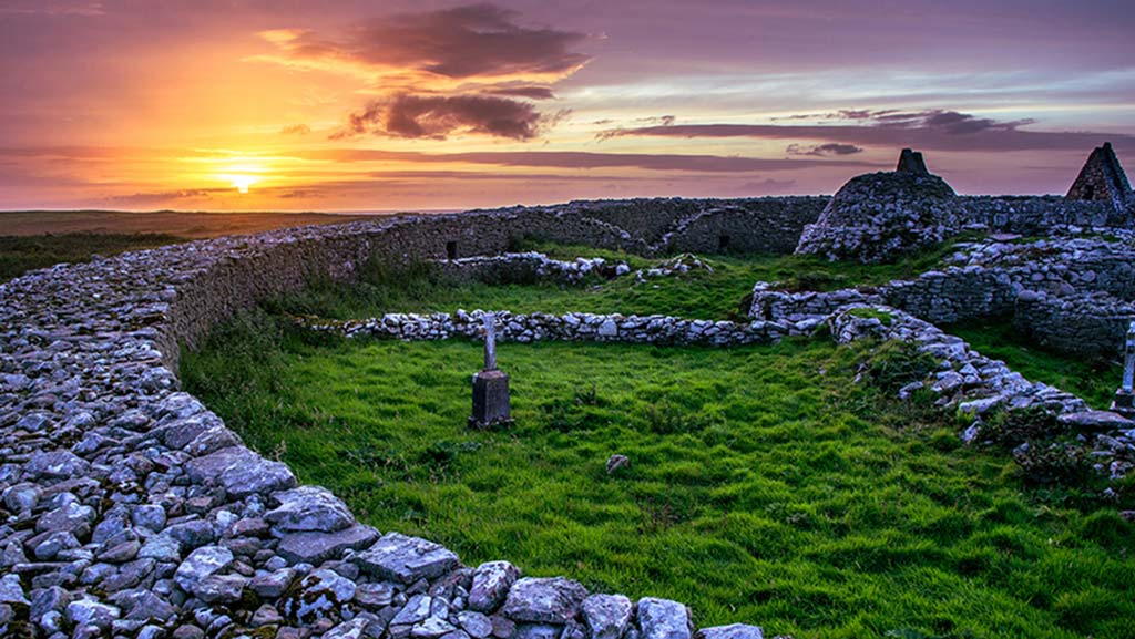 Wild West Sailing - Inismurray Monestary