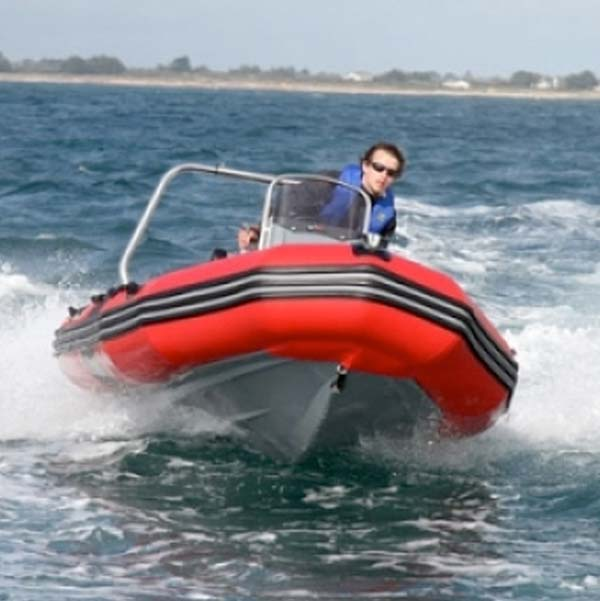Wild West Sailing | Powerboat Level 2 - Zodiac PRO II 500