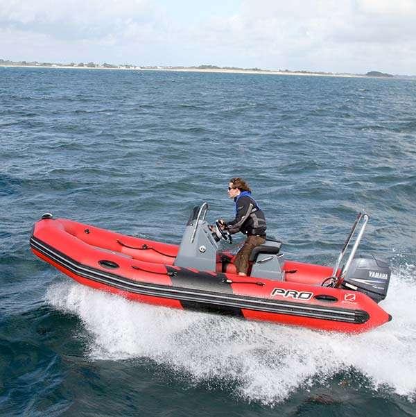 Wild West Sailing | ICC (Powerboat) - Zodiac PRO II 500